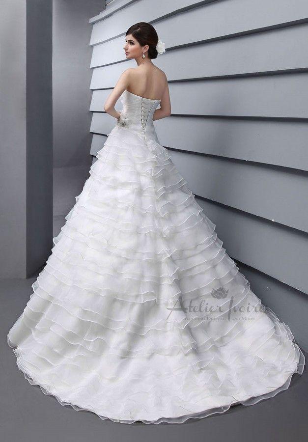 Wedding dress Catania by Atelier Ivoire