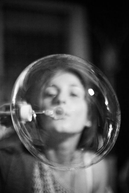 Life is like bubbles. Sometimes it pops, and sometimes it gets bigger.