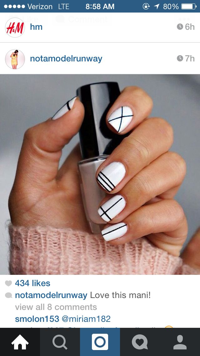 Easy DIY Nail Art for Beginners - theFashionSpot - Nail Art Design - Pin By Lexi Svenson On Cosmetology Pinterest Manicure, Make Up