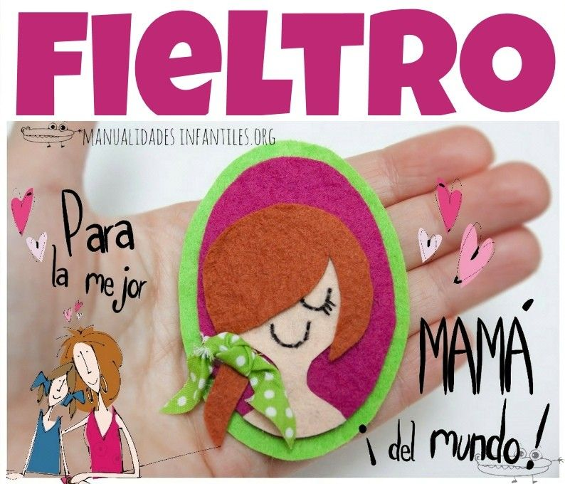 Materiales Para Manualidades Fieltro Pinterest Mothers Day
