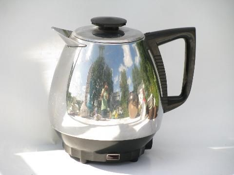 Saladmaster Jet O Matic Model 10 Electric Coffee Pot Vintage