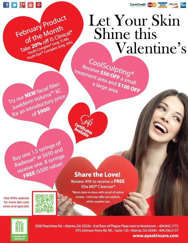 Get Valentine S Ready With Our Skincare Specials At Aya Phipps