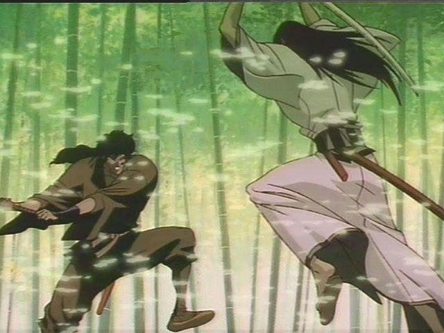 Nude Ninja scenes scroll