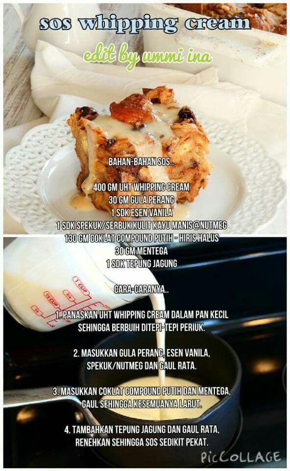 Pin Oleh Oktaviani Cristian Di Resepi Makanan Resep Makanan Penutup Makanan Dan Minuman