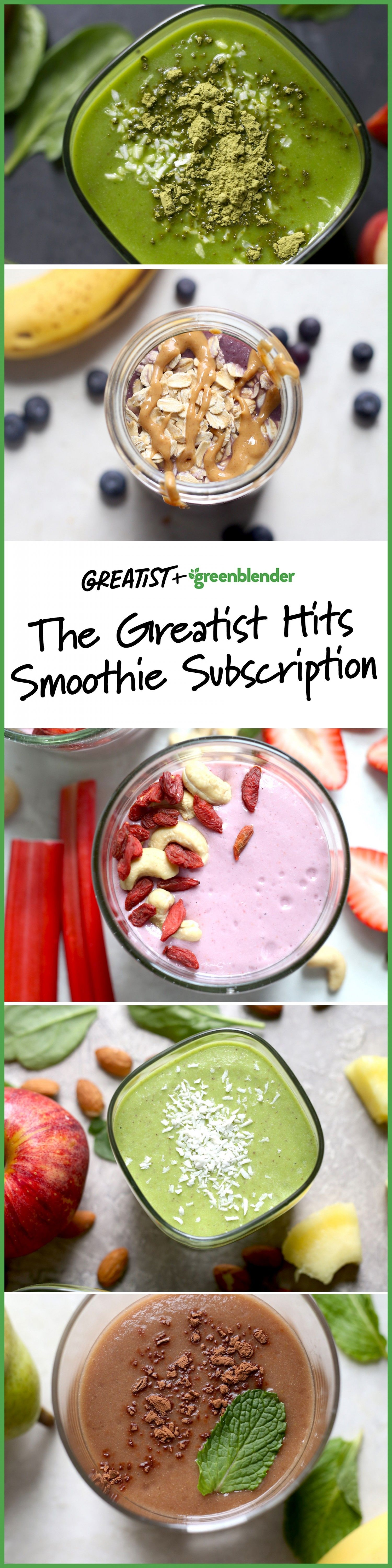 You Can Get Our Favorite Summer Smoothie Recipes Sent