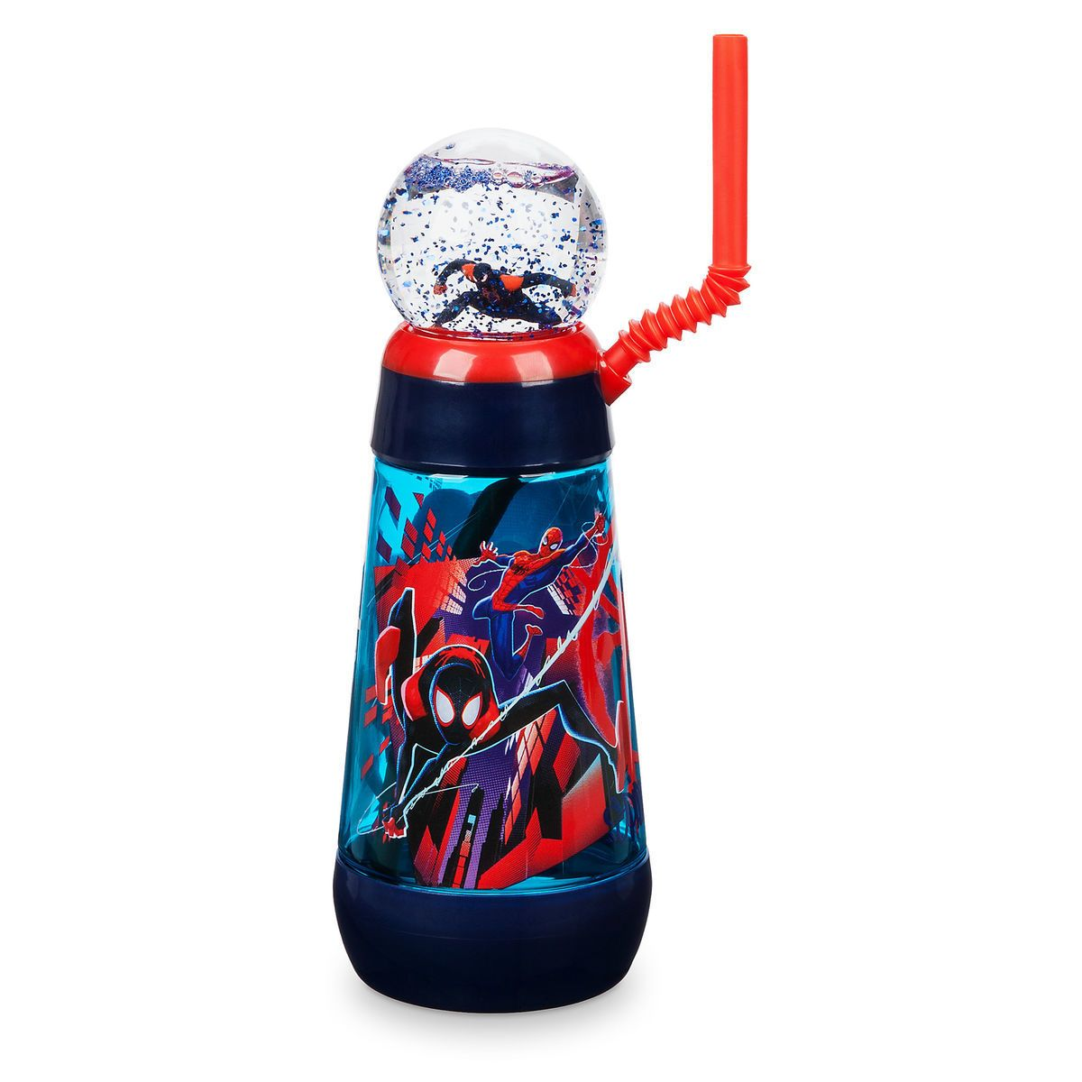 a800999524 Spider-Man: Into the Spider-Verse Snowglobe Tumbler with Straw in ...