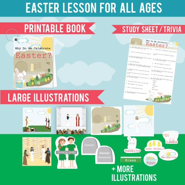 Great Easter Lesson For All Ages Teaches About The Resurrection And