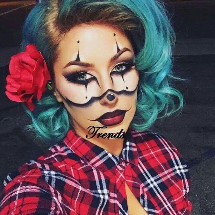 Pin by Maricela Benavidez on ideas Pinterest Makeup - clown ideas for halloween