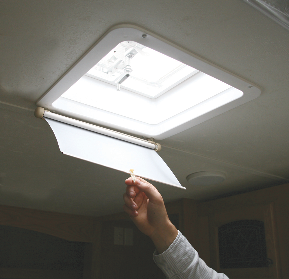 Image Result For Rv Skylight Shade Retractable Roof Camco Roof Hatch