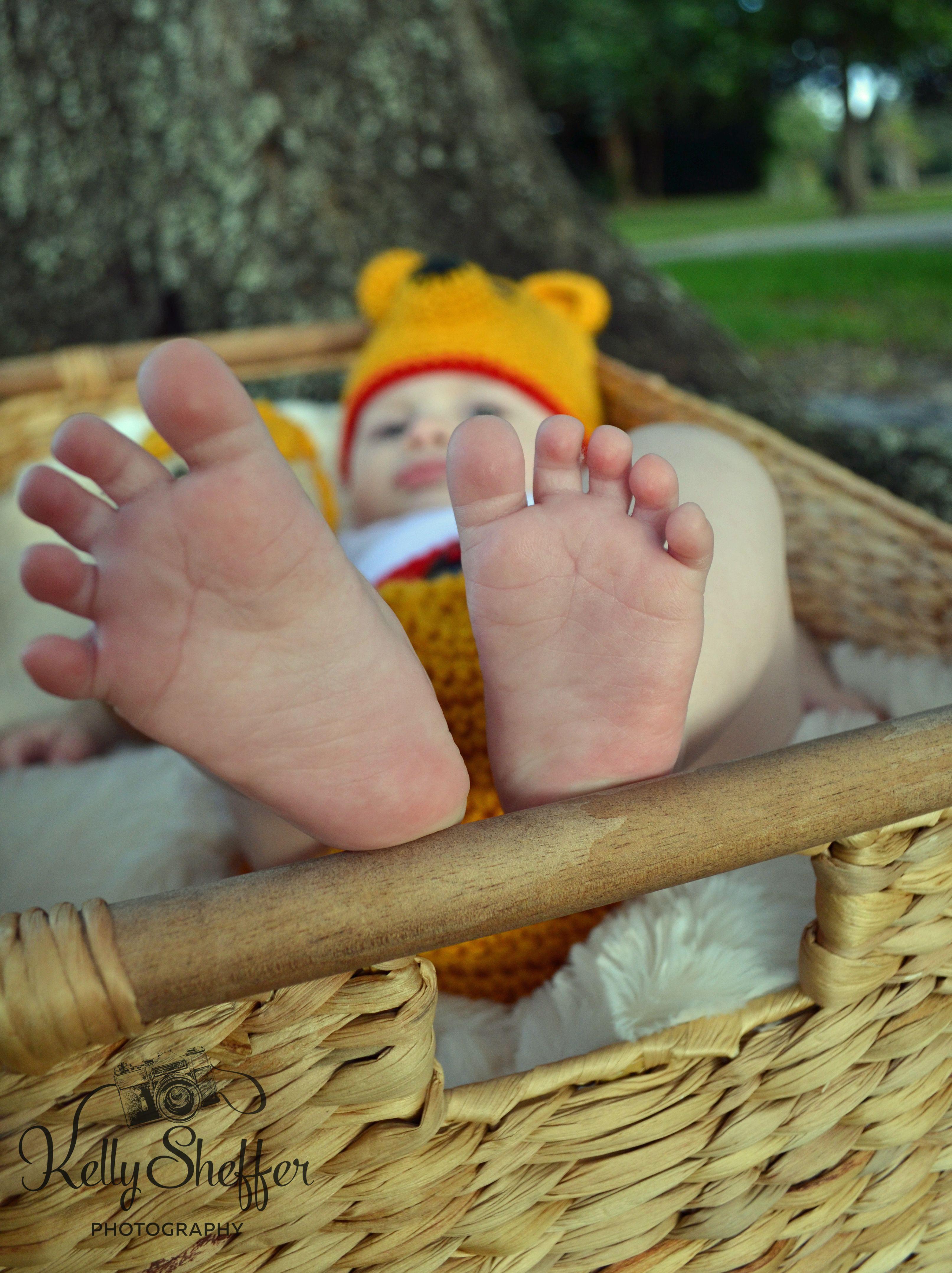 Disney Winnie the Pooh baby shoot