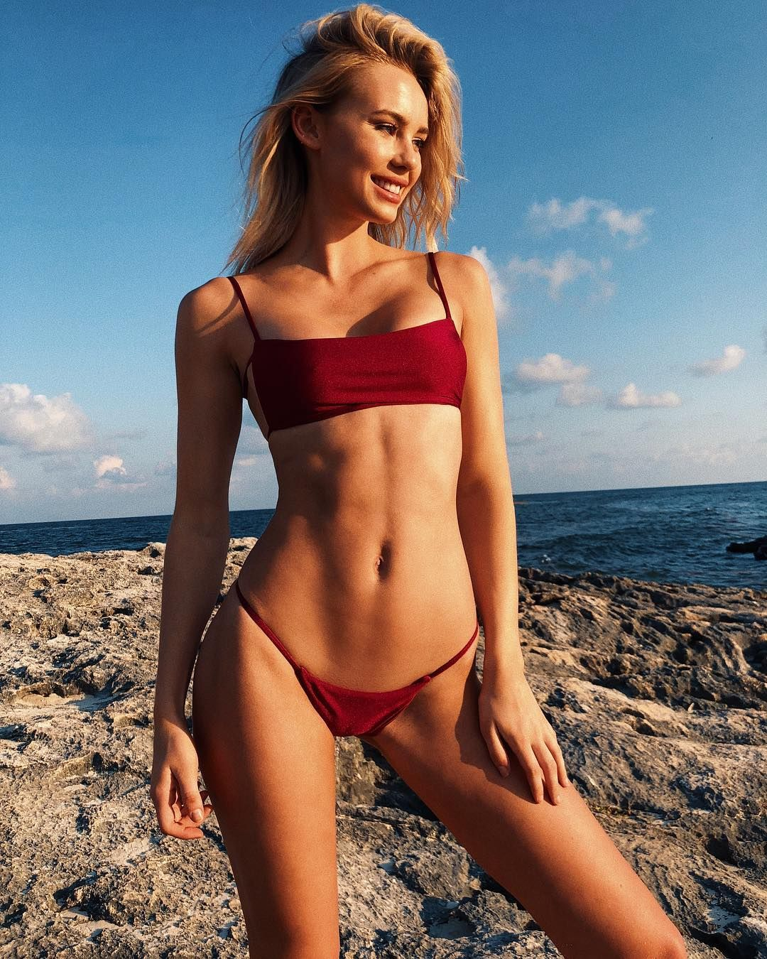beach Blonde micro bikini