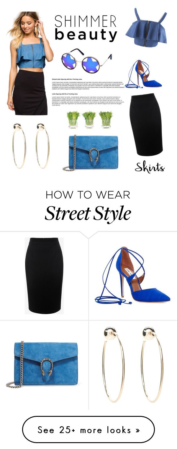 """Euro Style Street Look"" by lee77 on Polyvore featuring Alexander McQueen, Bebe, Steve Madden, Gucci and NDI"