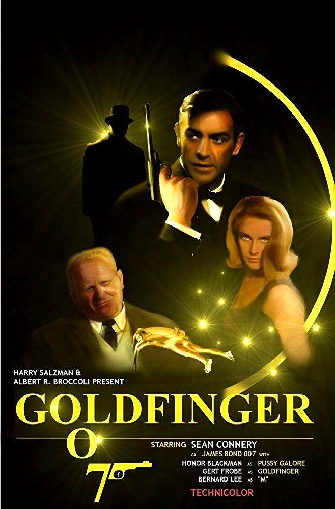 Goldfinger 1964 James Bond Anthology En 2018