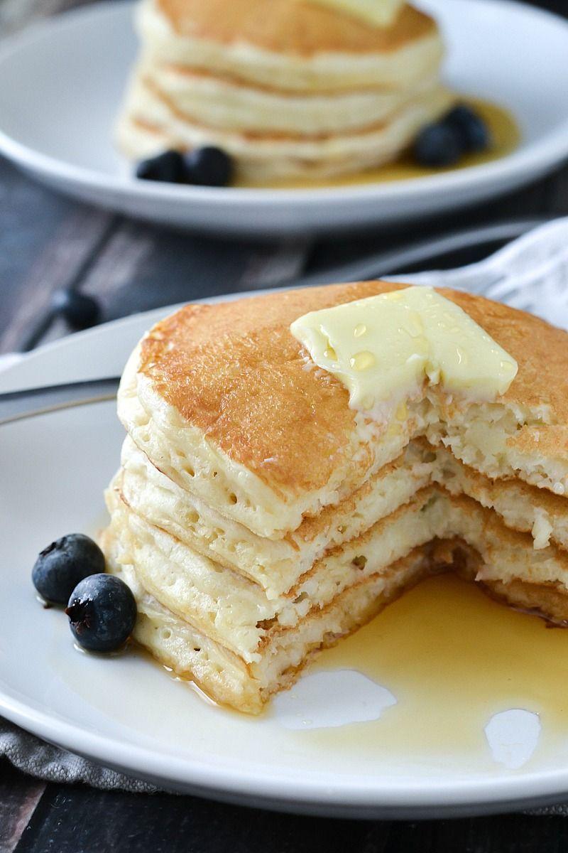 Fluffy buttermilk pancakes recipe buttermilk pancakes