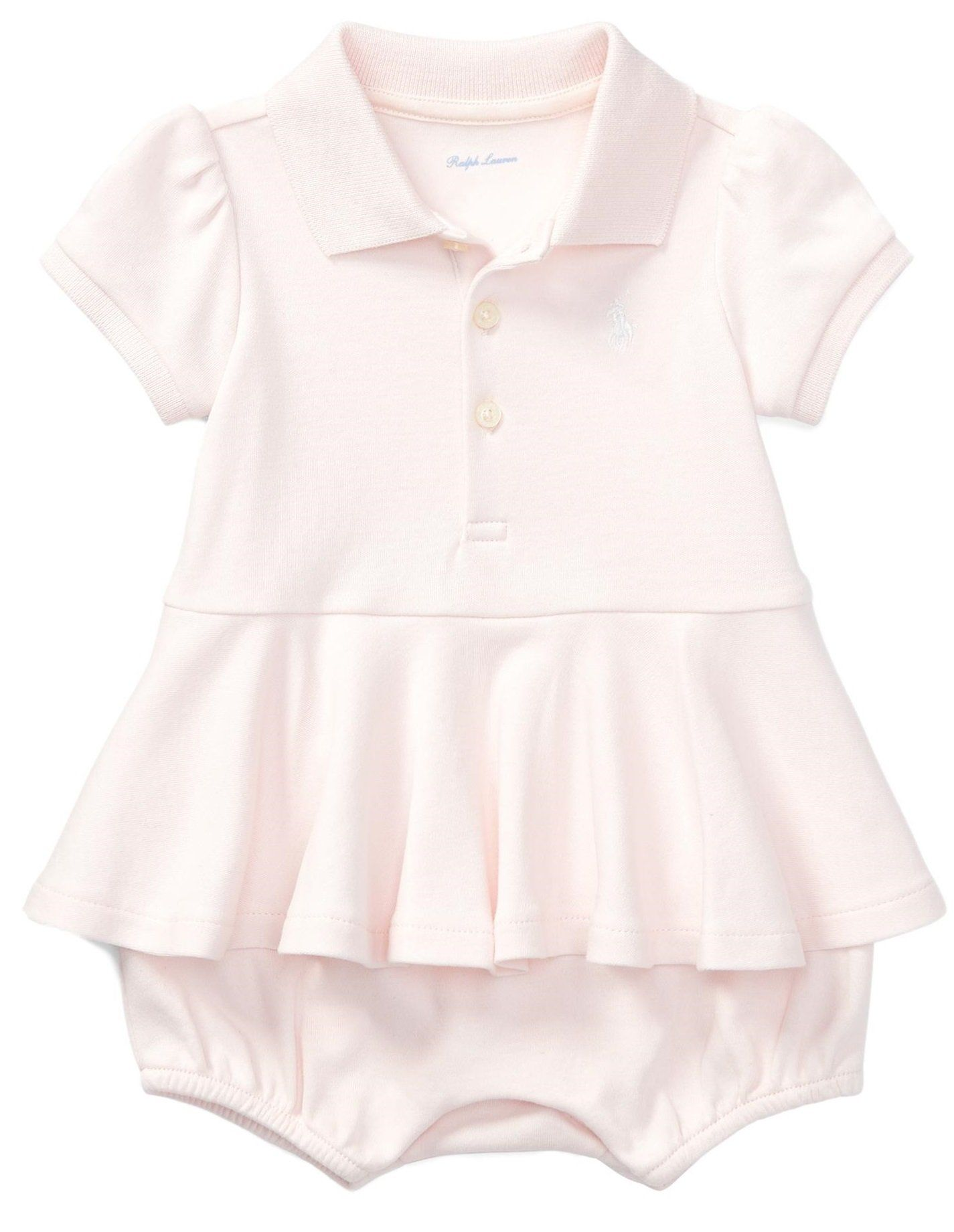 76192859b RALPH LAUREN Baby Girls Cotton Peplum Polo Romper 3 Months Delicate Pink     Have a look at this wonderful item. (This is an affiliate link).
