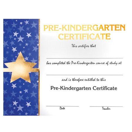 Premium Foil Kindergarten Diploma  Star  Coordinate Your Star