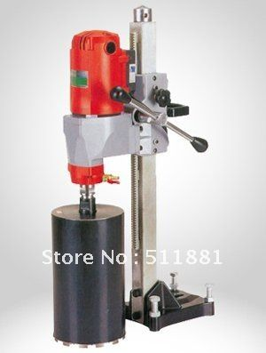7 180mm Desktop Core Drill Machine And 2 5 63mm Concrete Wall Dry Core Drill Bits With Protect Switch 14kg Net Weight Concrete Wall Drill Bits Drill