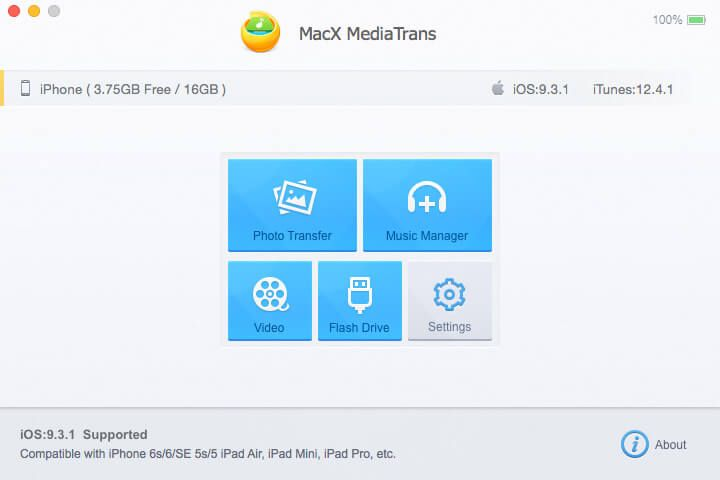 MacX MediaTrans Features – #iOS Photos Transfer – Music Manager – iOS Videos Transfer – Mount #iPhone as USB Flash Drive http://www.tech-wonders.com/?p=5189