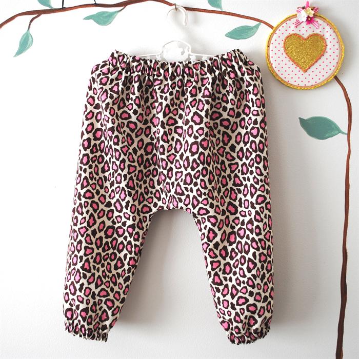 927bb0047 Pink Leopard Harem Pants - girl