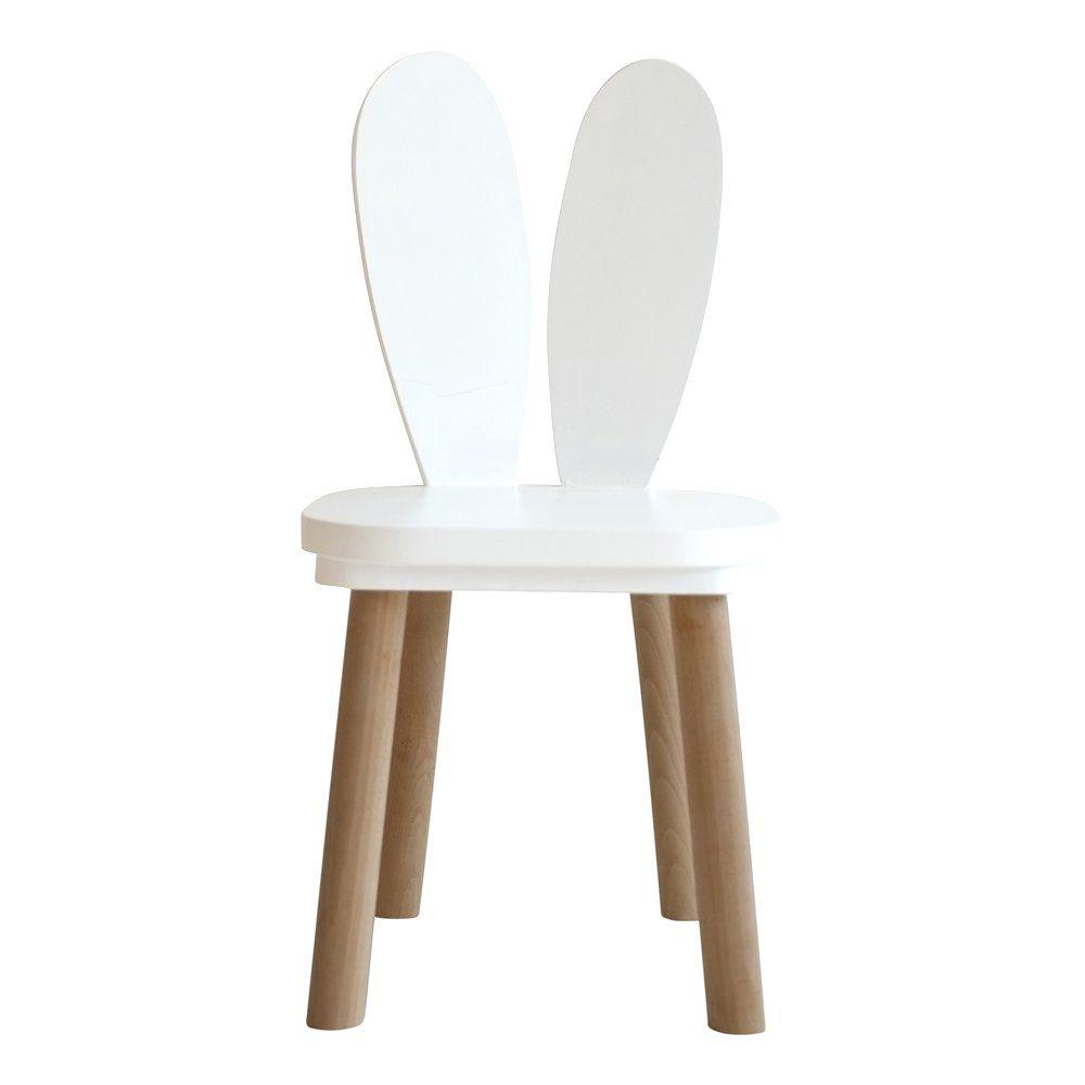 Chaises Et Table Enfant Lapin Blanc Mobilier Enfant Original Petite Amelie Table Enfant Chaise Enfant Lapin Blanc