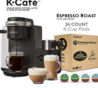 Coffee Lattes Cappuccinos Use Any K Cup Pod To Brew Coffee Or