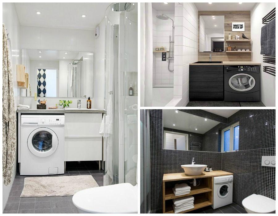 baño lavadora - Buscar con Google | Baño con lavadora ...