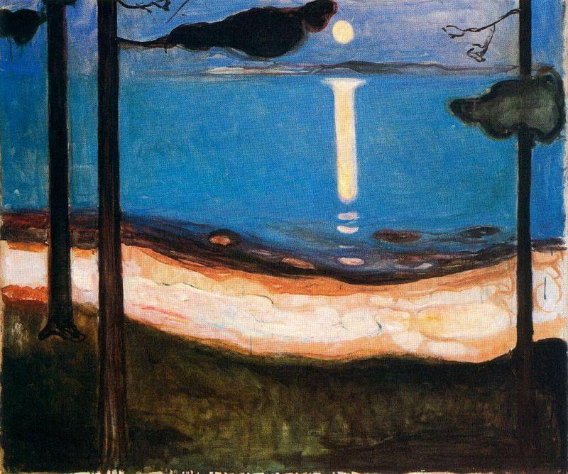 Edvard Munch - Moon Light, 1895