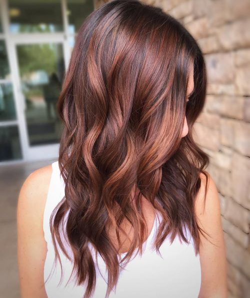 42 Ideas Redish Hair Highlights For 2020 Get Your Hairstyle Inspiration For Next Season Page 13 Of 42 Cr In 2020 Red Balayage Hair Hair Color Auburn Balayage Hair