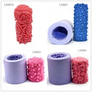 Handmade Silicone Candle Mold for Christmas DIY Candle Moulds