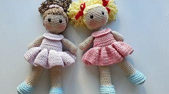 Ideias de Bonecas Amigurumi – Meu Mundo de Crochê | 188x336