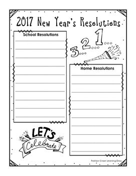 New Years Resolutions 2021 With Printable And Digital Versions New Years Resolution Year Resolutions Writing Templates