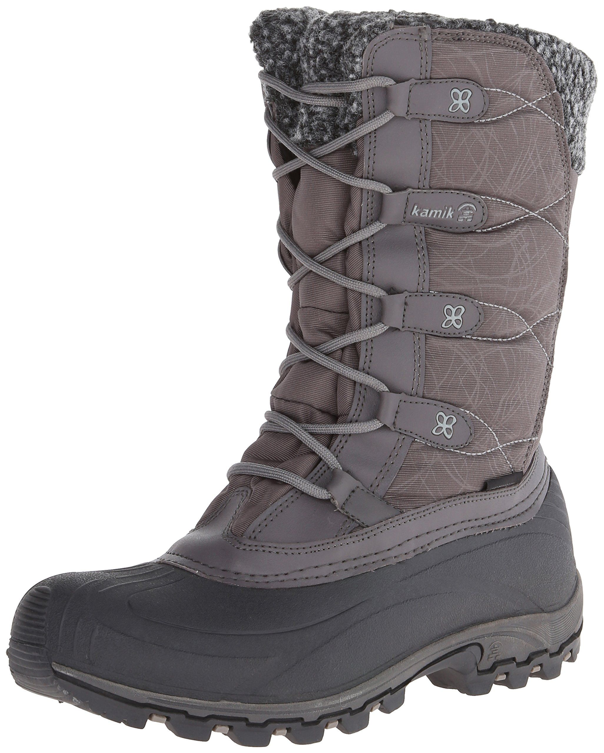 Kamik Women's Fortress Boot,Charcoal,7 M US