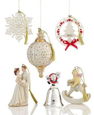 Lenox Christmas Ornament, Annual 2013 | Christmas ...