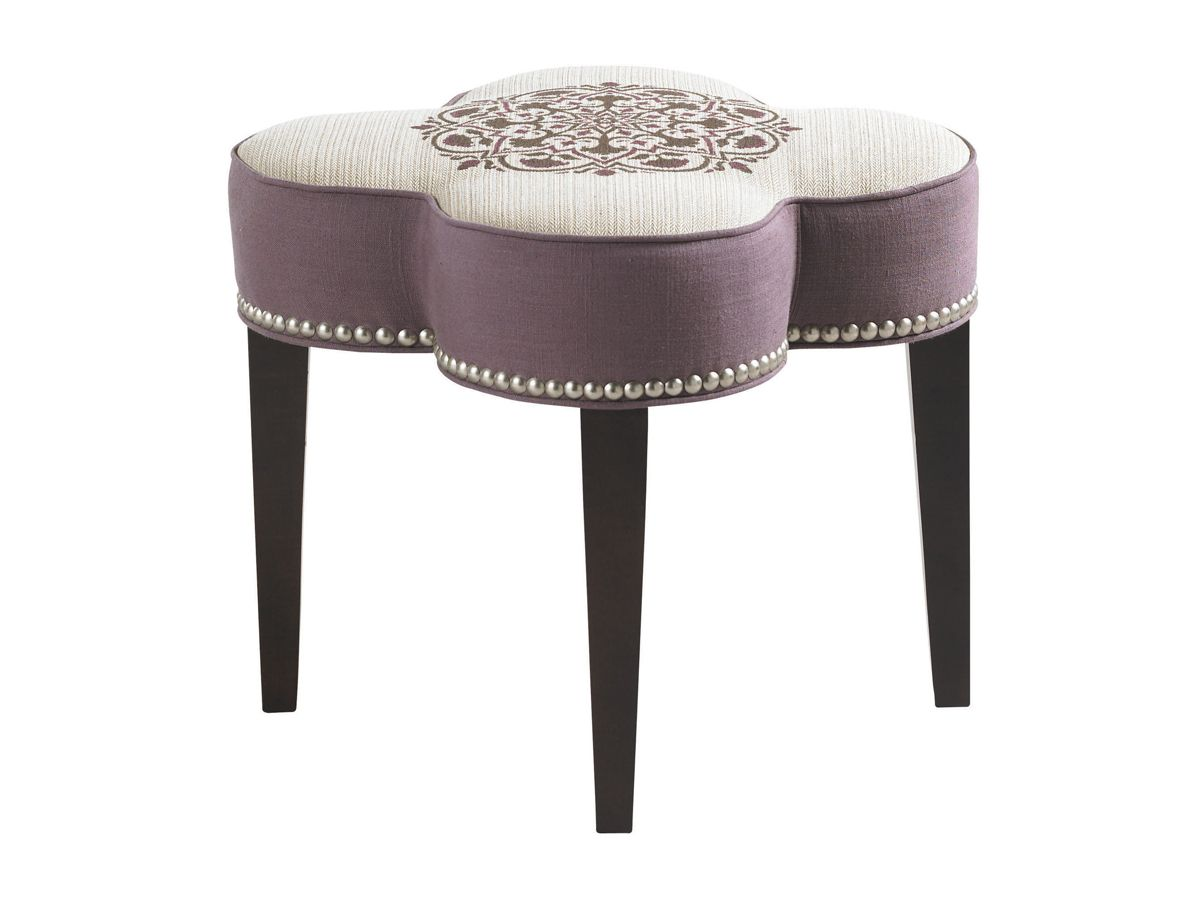 Pampelonne Ottoman | Lexington Furniture #LHBDesign #CoutureSeating