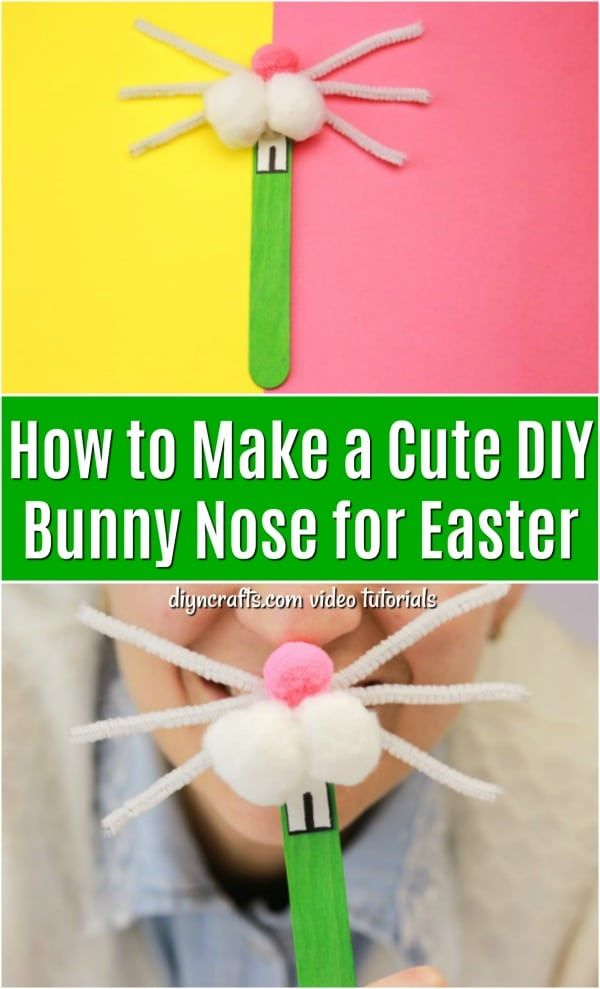 Diy easter craft for toddlers