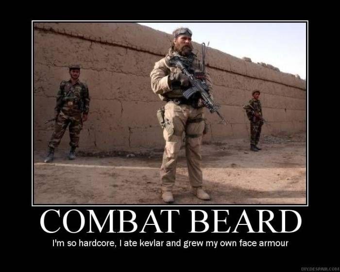 Combat Beard