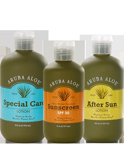Perfect Partners Aruba Aloe Pure Aloe Vera Gel Sunscreen Lotion Aloe