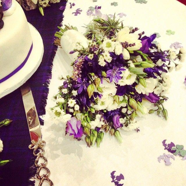 Beautiful bouquet at Saturday's wedding #bouquet #boynehillhouse #flowers…