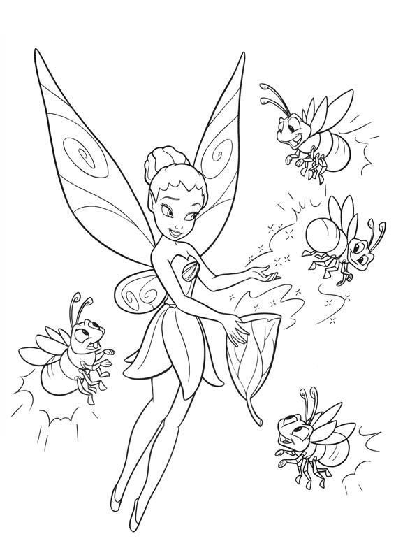 75 tinkerbell printable coloring pages for kids find on coloring book thousands of coloring pages - Picture Of Tinkerbell To Color