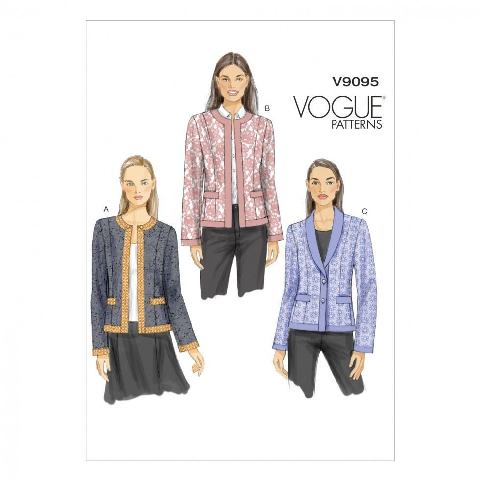 Image result for vogue 9095 | Sew | Pinterest