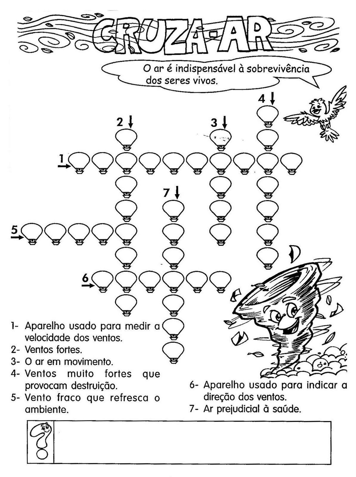 Ciencias 75 Atividades Sobre Ar Atmosfera Pressao