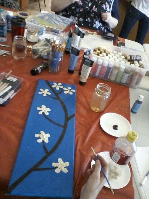 Paint with bottles