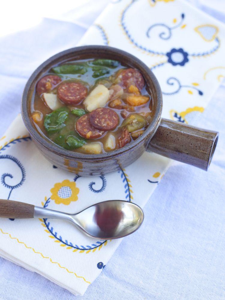 Sweet Potato and Sausage Soup