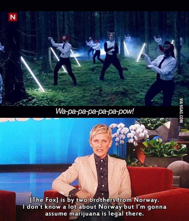 Oh, Ellen, I love you