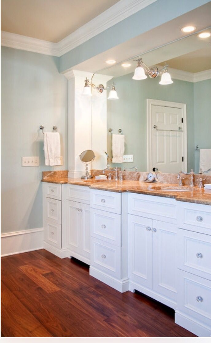 Sherwin williams topsail beautiful furnishings - Master bedroom and bathroom paint colors ...