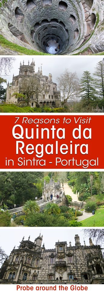 7 Mythical Reasons to Visit Quinta da Regaleira in Sintra Portugal #portugal