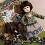 EP0003A Bleuette, My Elegant Emerald (Bleuette Pattern Package)