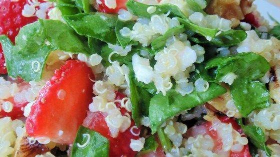 Strawberry Quinoa Salad