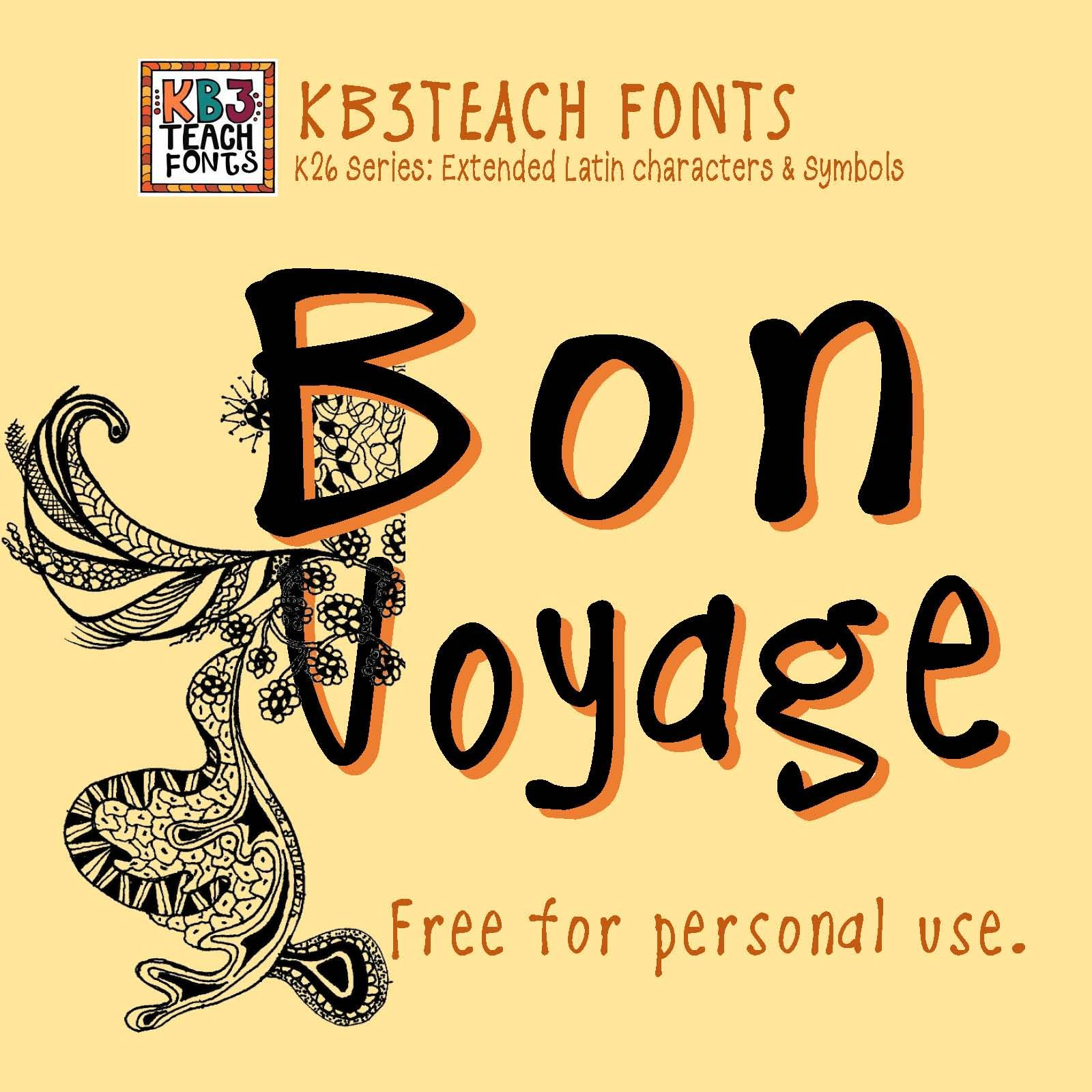 Free Fonts Kb3 Casual Friday Personal Use K26 Series
