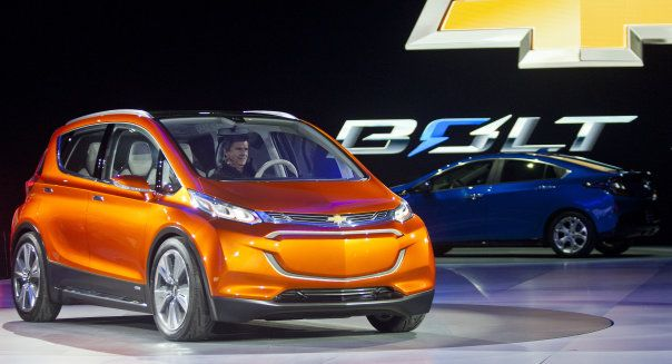 Chevy Bolt First Pure Electric Car With Good Range Price Chevy